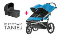 THULE Urban Glide Blue 2 + bassinet