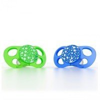 Twistshake - 2x Pacifier Large (6+m) Green/Blue