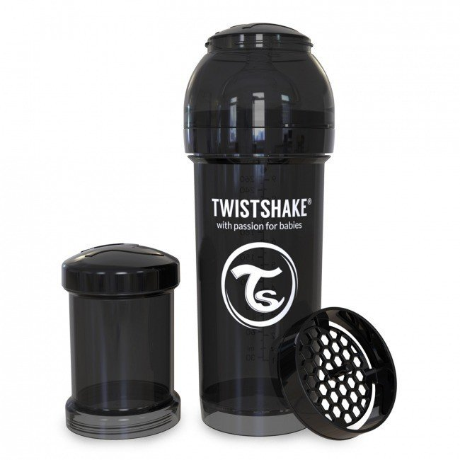 Twistshake - Anti-Colic Black 260ml