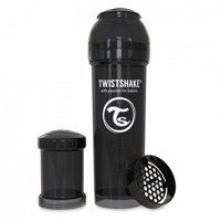 Twistshake - Anti-Colic Black 330ml