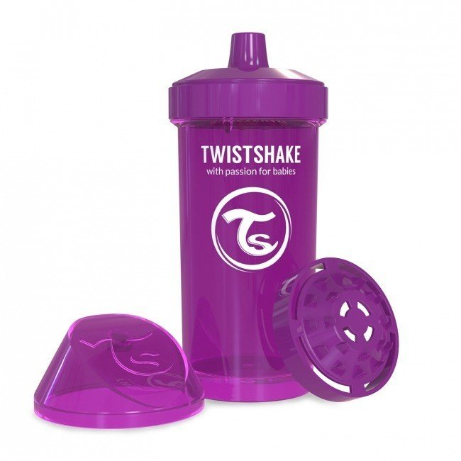 Twistshake - Crowler Cup Purple 360ml