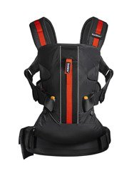 BABYBJORN Baby Carrier ONE Outdoors, black