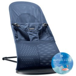 BABYBJÖRN - Bouncer Balance Soft MESH - Dark blue