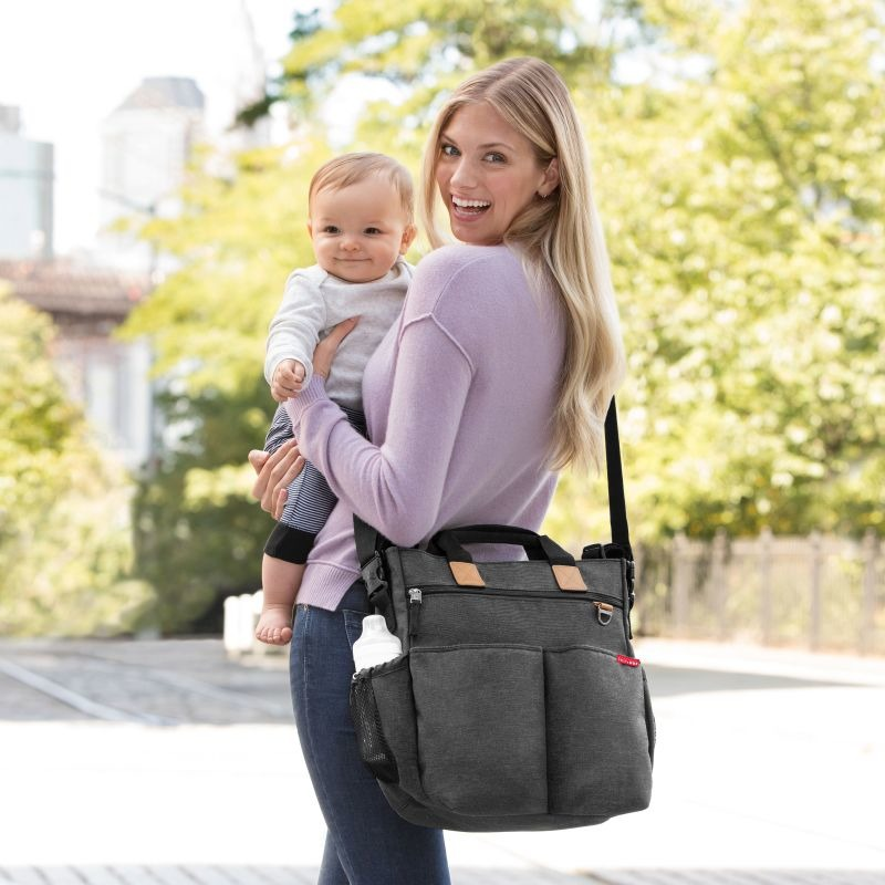 Skip Hop - Duo Signature Diaper Bag - Soft Slade