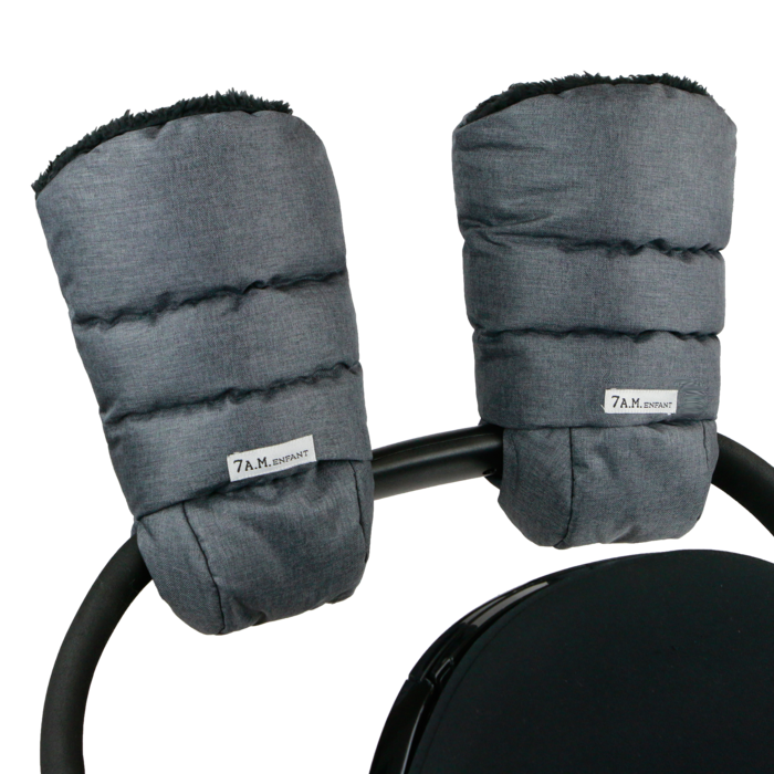 7AM -  Warmmuffs Heather Grey Dark
