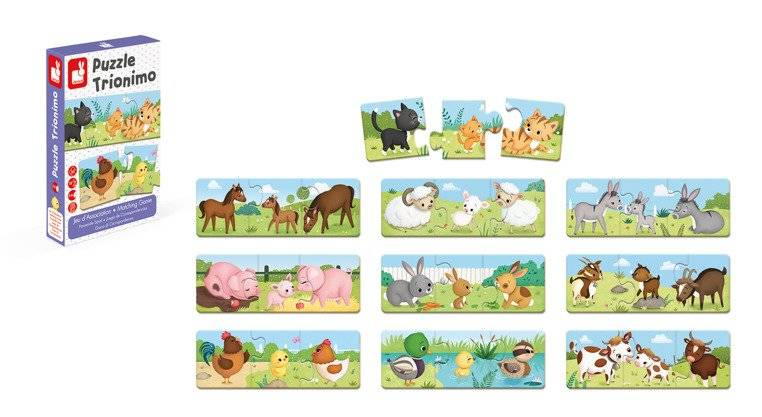 Animals Puzzle Game: 30 pcs
