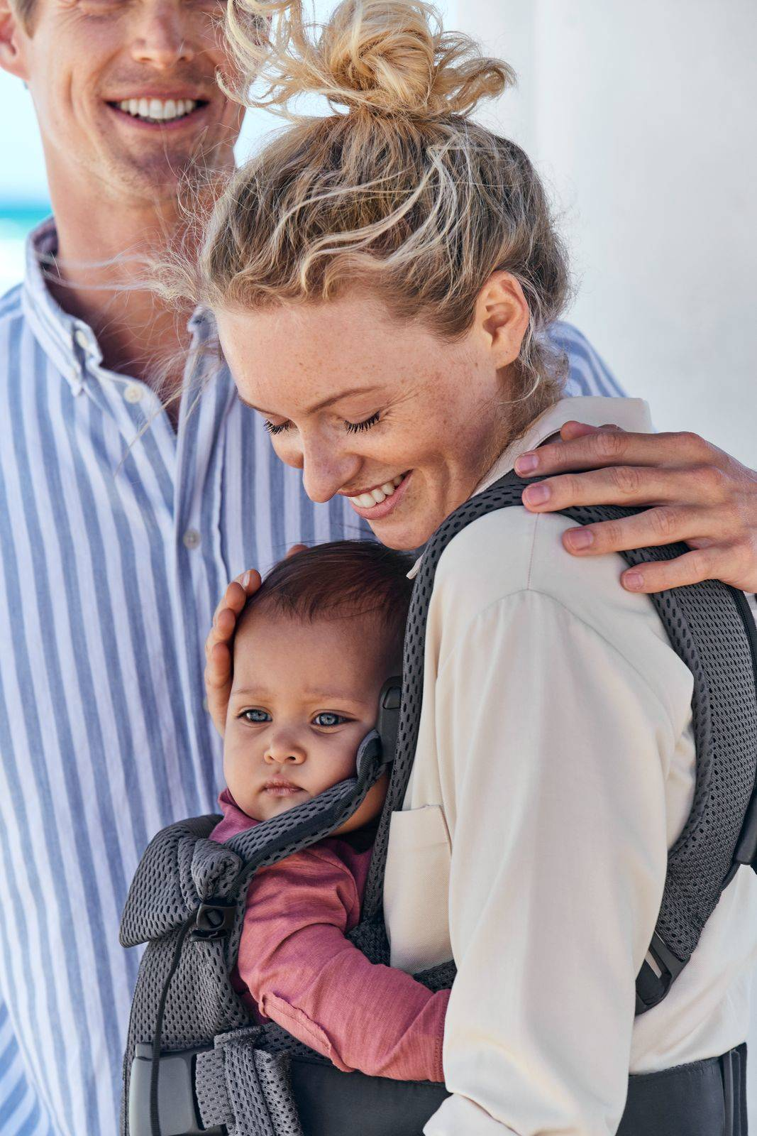 BABYBJÖRN - Baby Carrier ONE AIR, Anthracite
