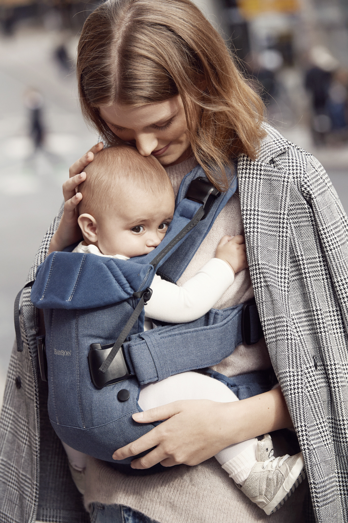 BABYBJÖRN - Baby Carrier ONE AIR, Blue