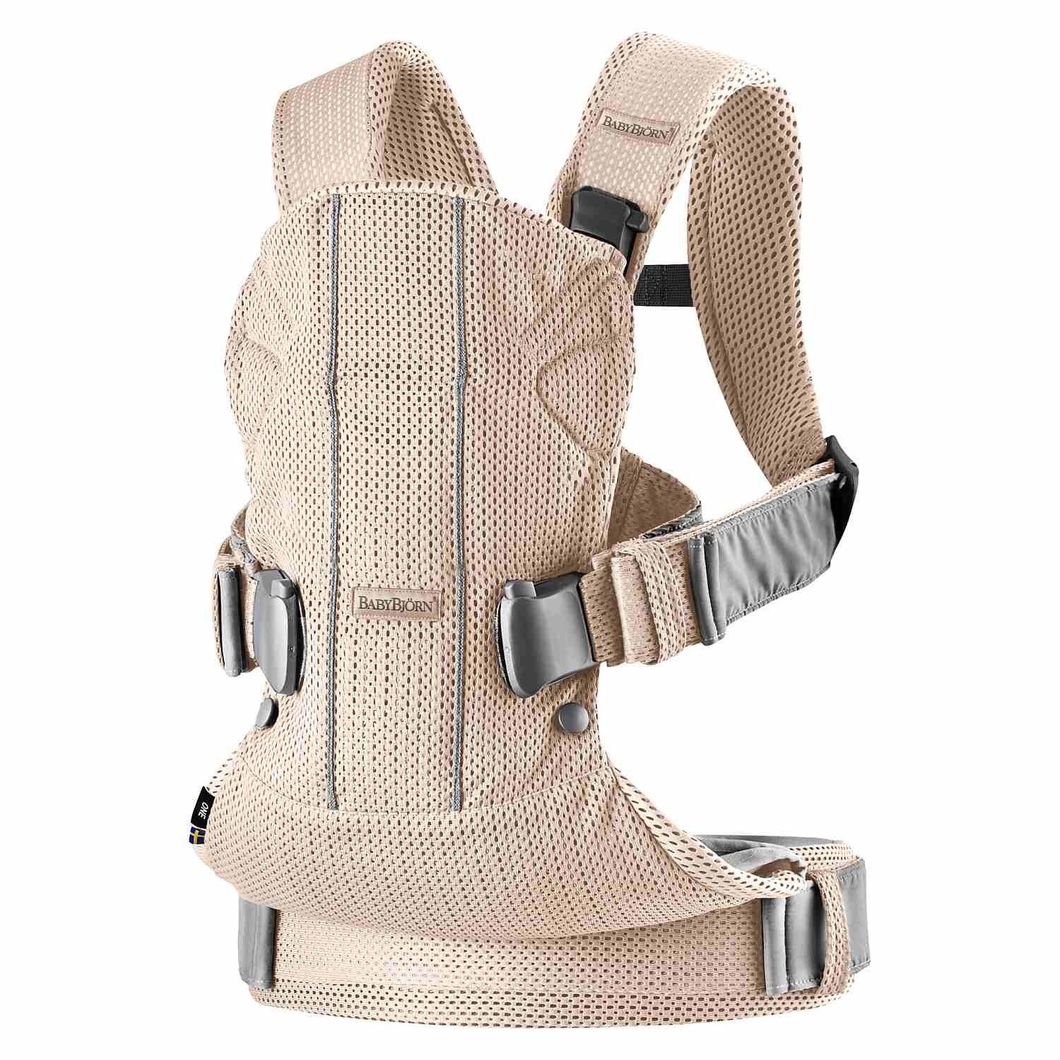 BABYBJÖRN - Baby Carrier ONE AIR, Greige
