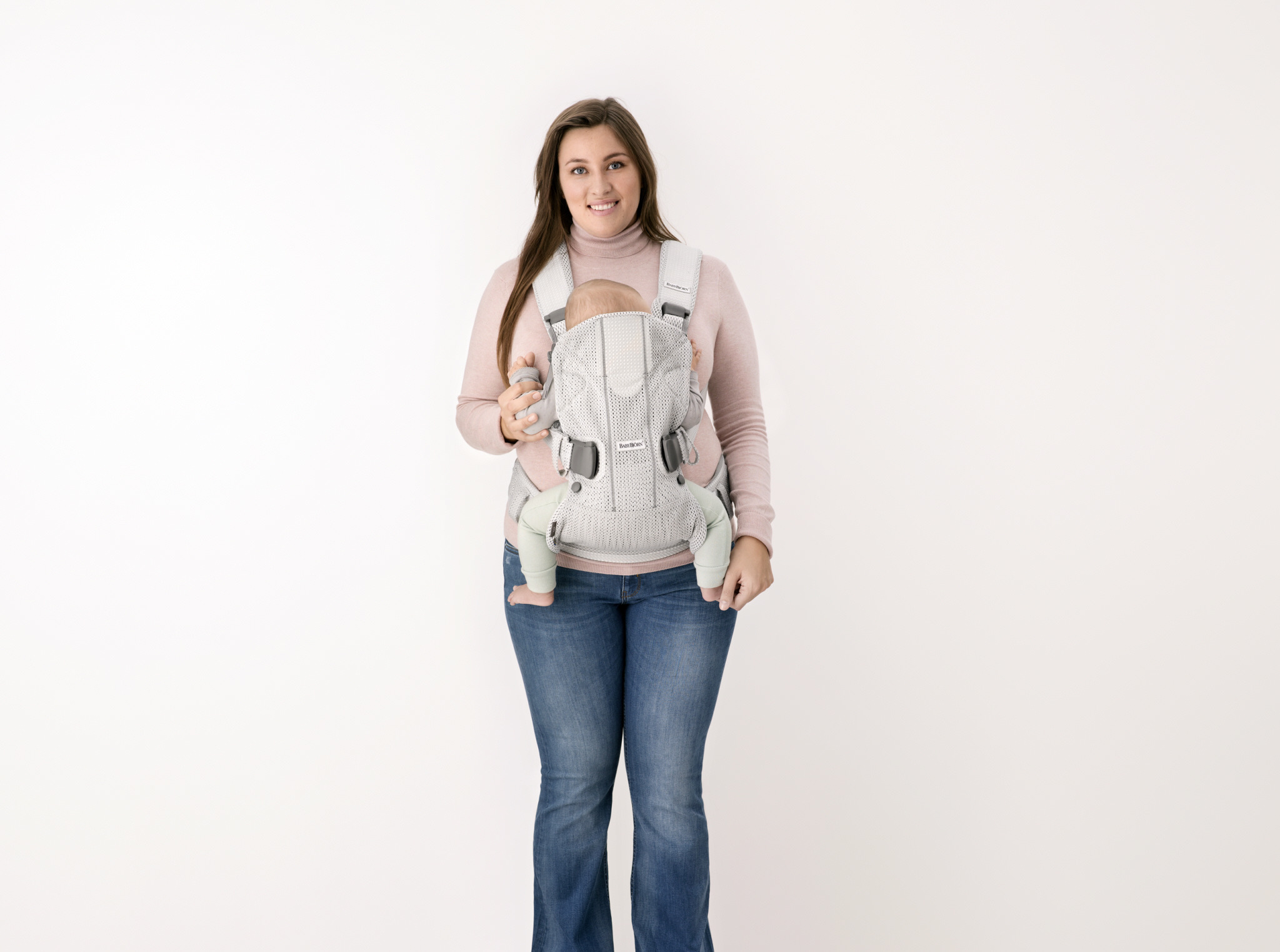 BABYBJÖRN - Baby Carrier ONE AIR, Silver