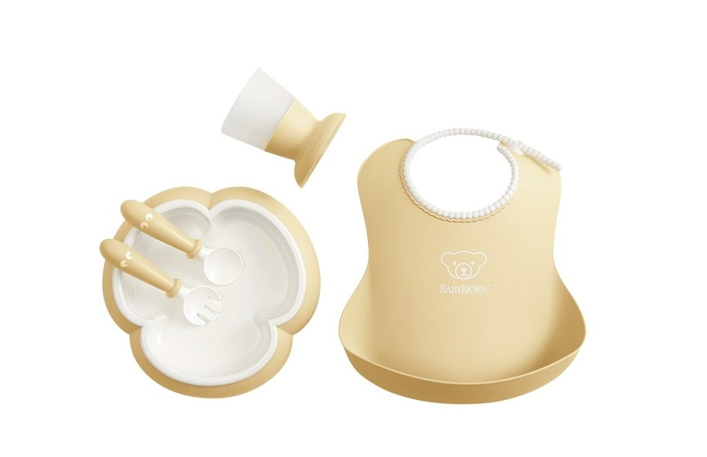 BABYBJORN - Baby Dinner Set - Powder Yellow
