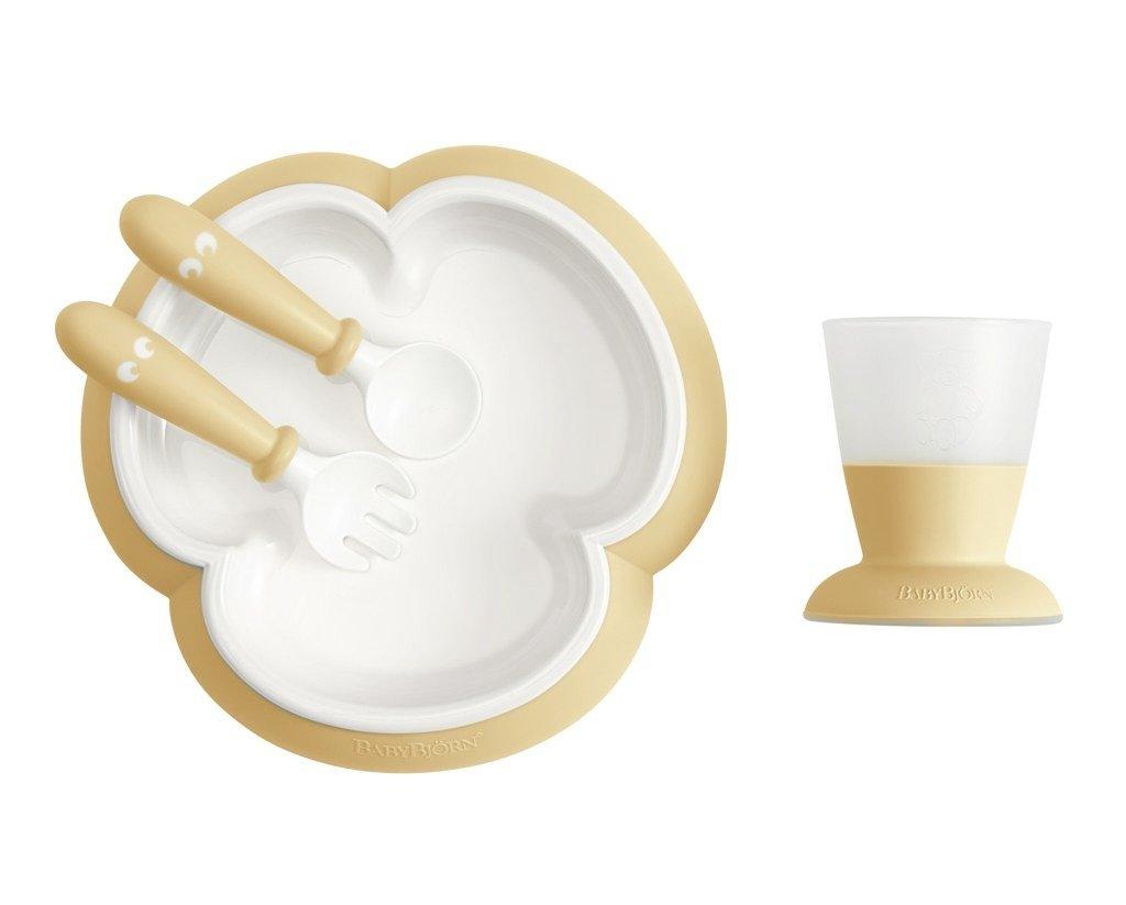 51d4998dff5 BABYBJÖRN - Baby Feeding Set - Powder Yellow ...