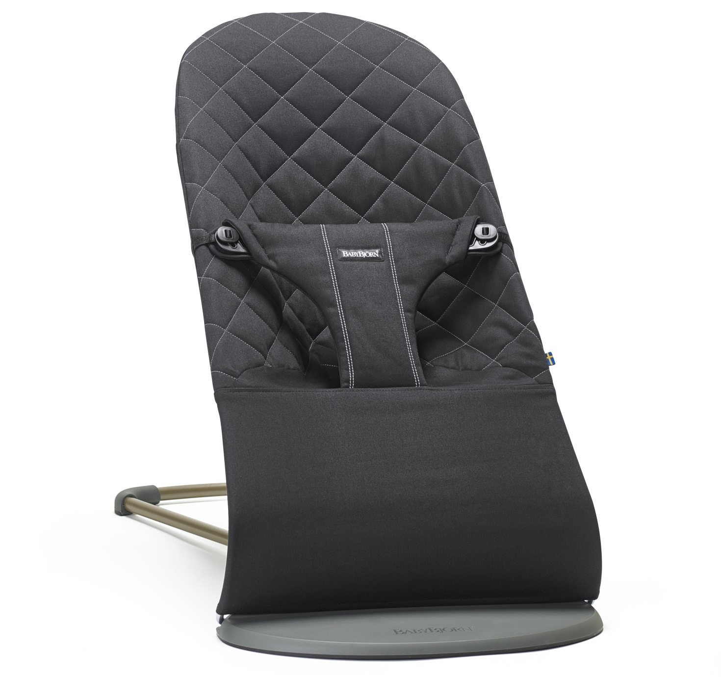 Babybj 214 Rn Bouncer Bliss Cotton Black Black