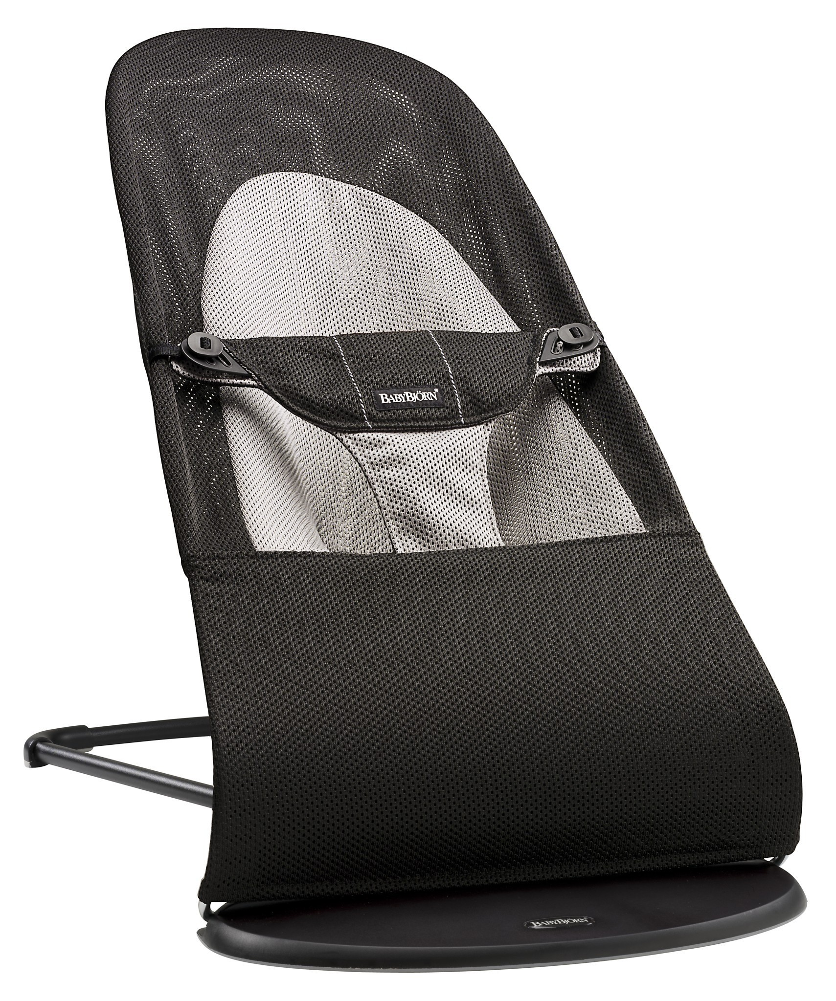 BABYBJÖRN - Bouncer Balance Soft MESH - Black / Grey