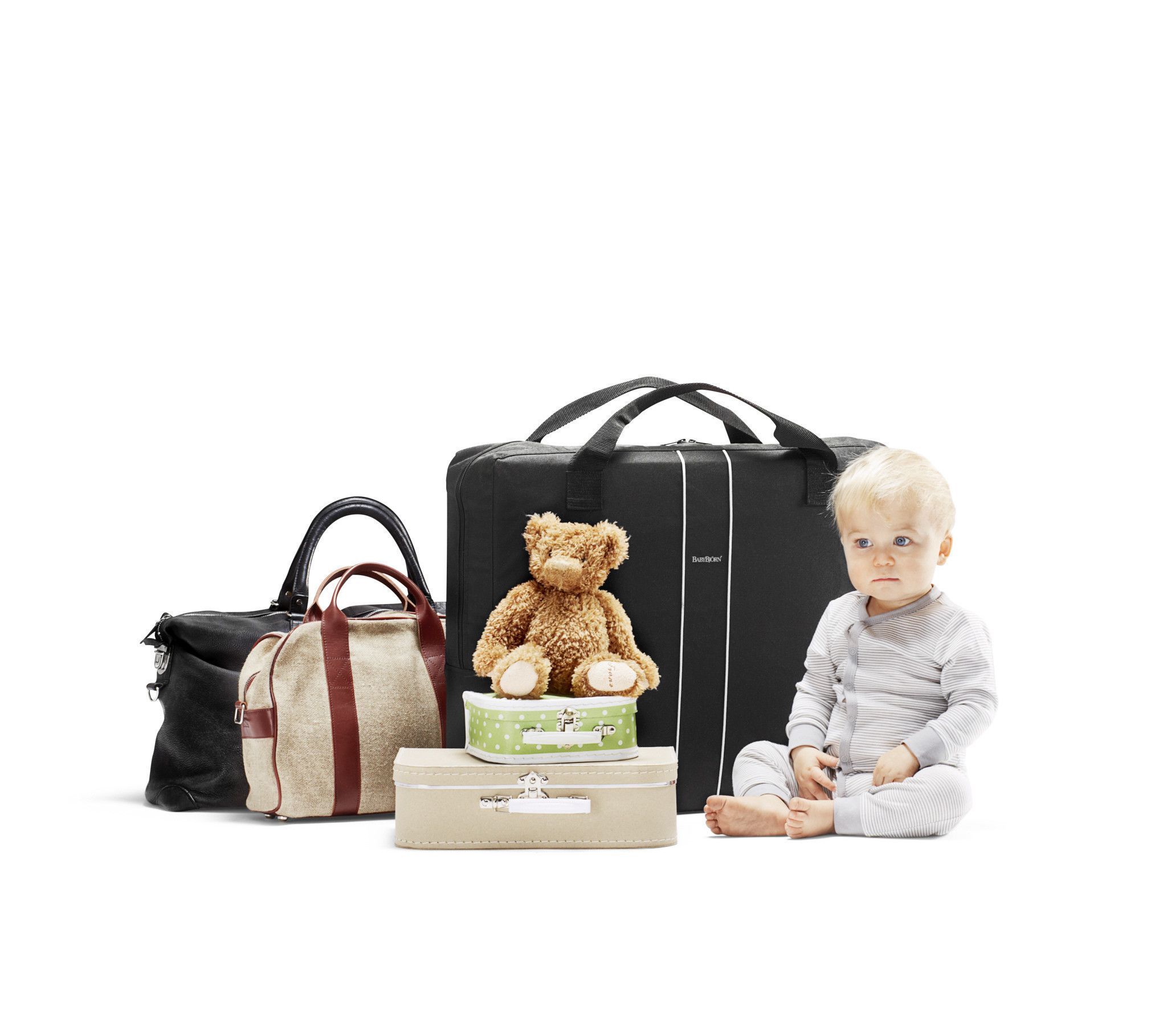 BABYBJÖRN - Travel Crib Light, Silver