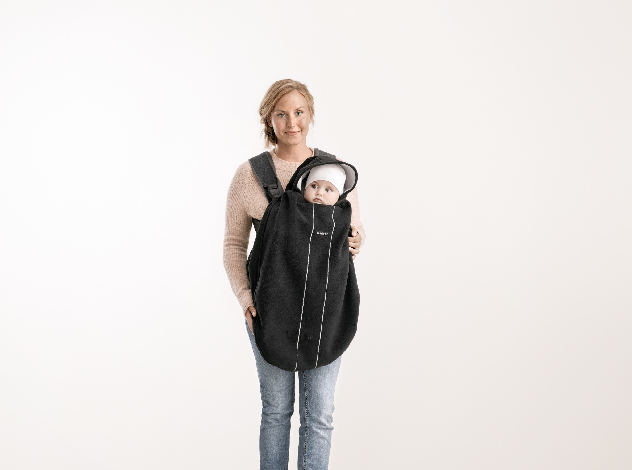 BABYBJÖRN - Windproof cover for Baby Carrier, black