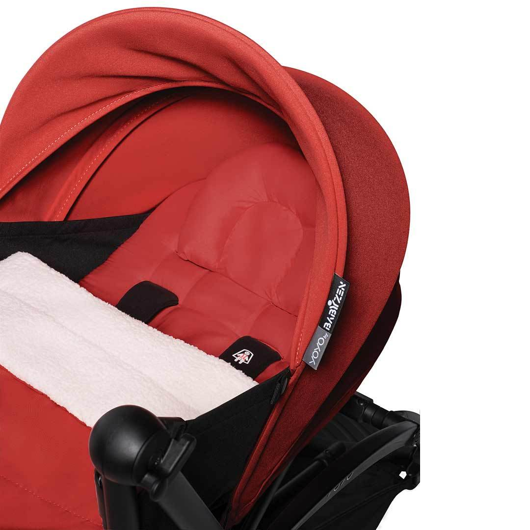 BABYZEN YOYO² - 0+ - Frame White + Newborn Pack Red
