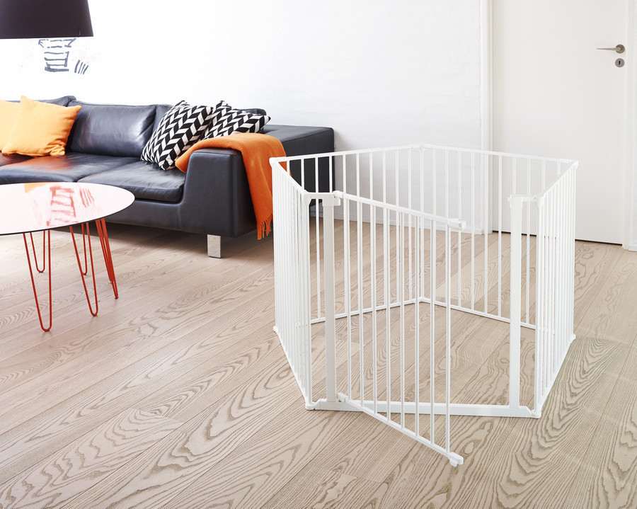 BabyDan Configure Safety Gate and Flex Baby Gate 72cm Door Panel Extension White