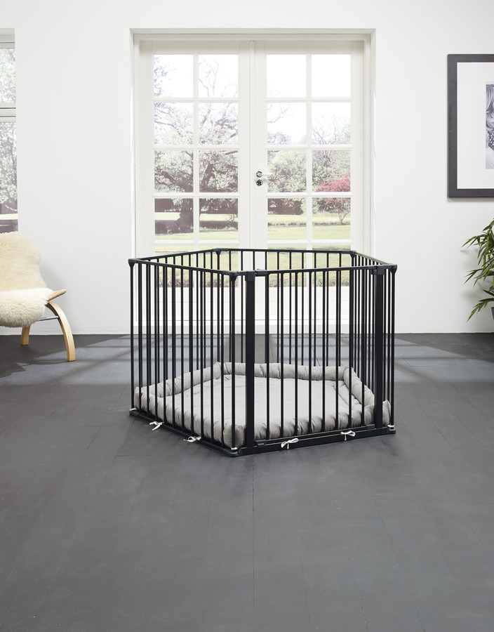 Baby Dan - Park-A-Kid Safety Den, black