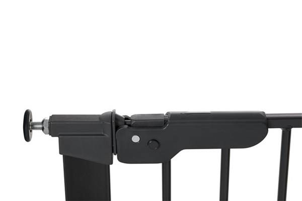 Baby Dan - Premier Safety Gate + 2 extension, Black