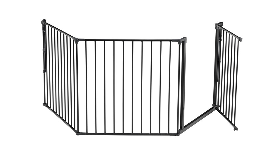 Baby Dan - Safety gate FLEX L, black