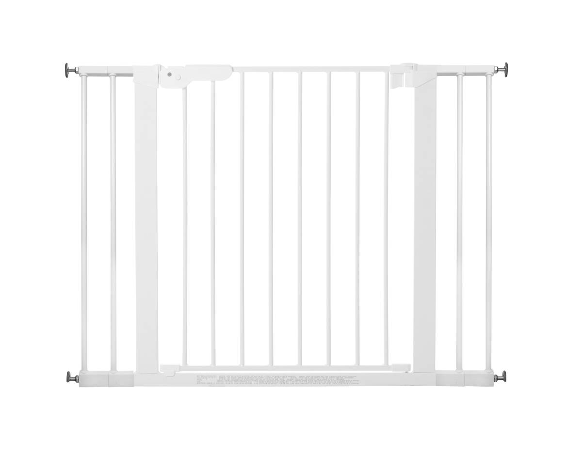 Baby Dan - Safety gate PREMIER + 4 extensions, white