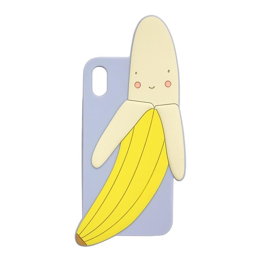 Banana Soft Silicone iPhone Case (X & XS)