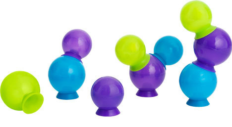 Boon - Bubbles, Suction cup bath toys