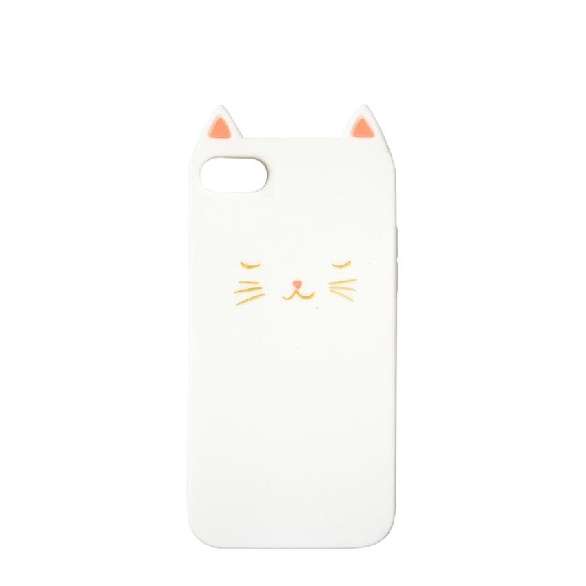 Cat Soft Silicone iPhone Case (6 7 & 8)