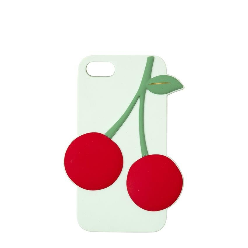 Cherry Soft Silicone iPhone Case (6 7 & 8)