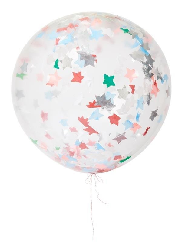 Confetti Star Balloon Kit