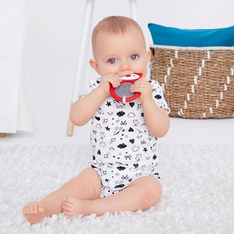 E&M Stay Cool Teether- Fox