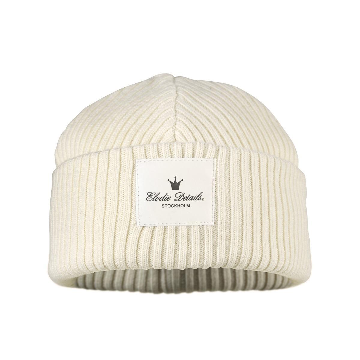 0026ee48483 Elodie Details - Cap Wool Vanilla White 6-12 ...