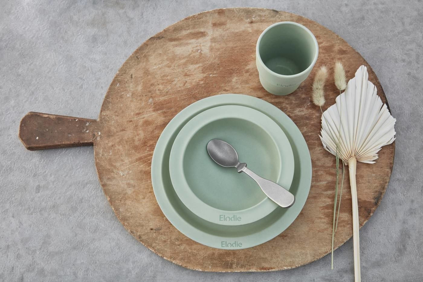 Elodie Details - Childern's Dinner Set - Mineral Green