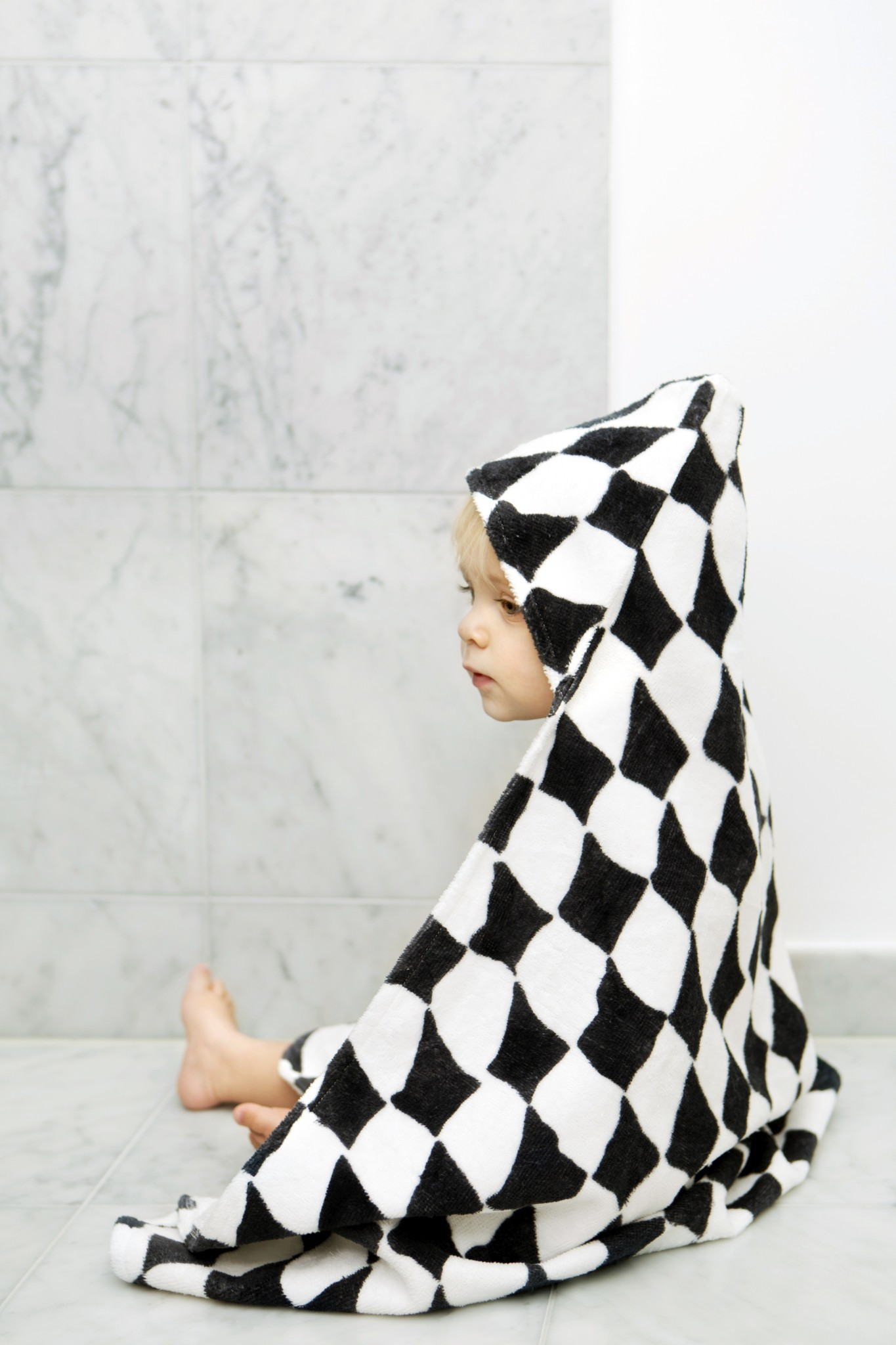 Elodie Details - Hooded Towel - Graphic Grace