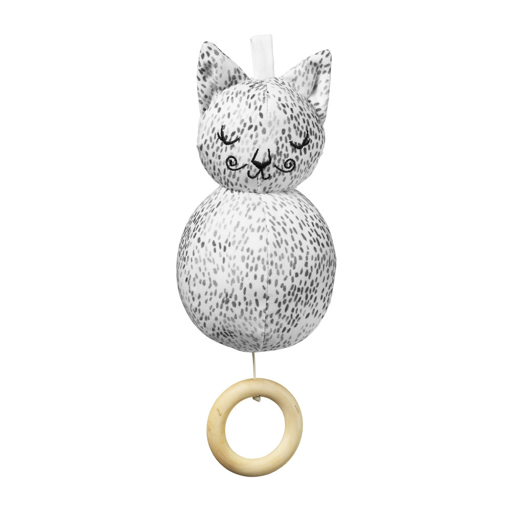 Elodie Details - Musical Mobile - Dots of Fauna Kitty