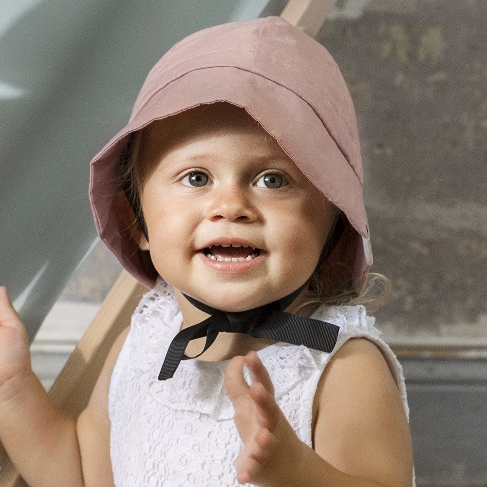 Elodie Details - Sun Hat - Faded Rose 0-6m