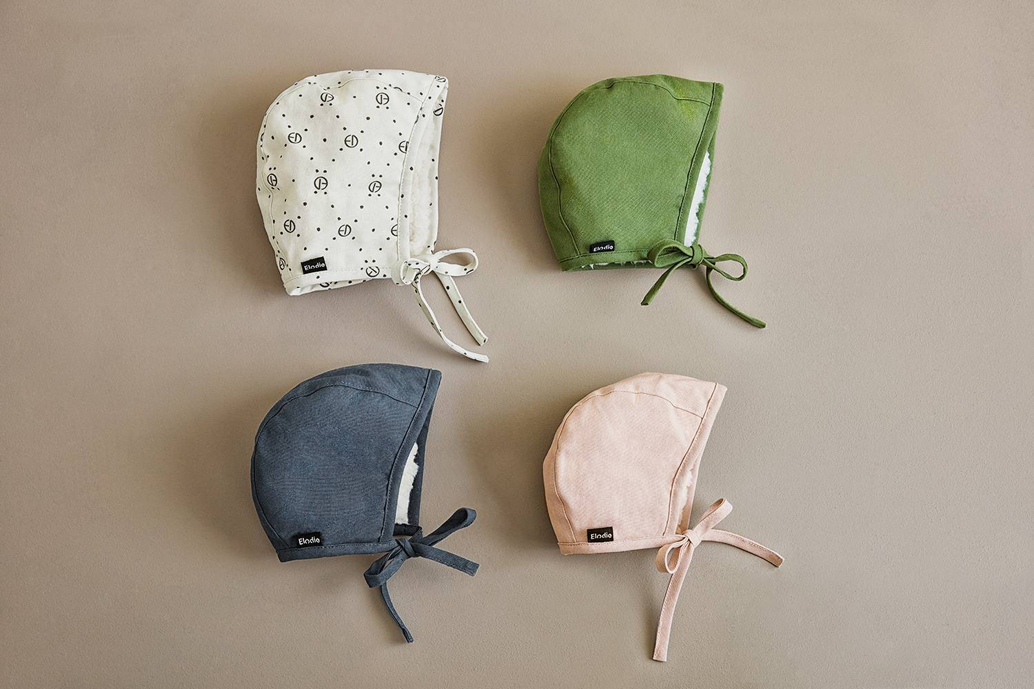 Elodie Details - Winter Bonnet - Popping Green 3-6 months