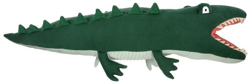 Large Knitted Crocodile