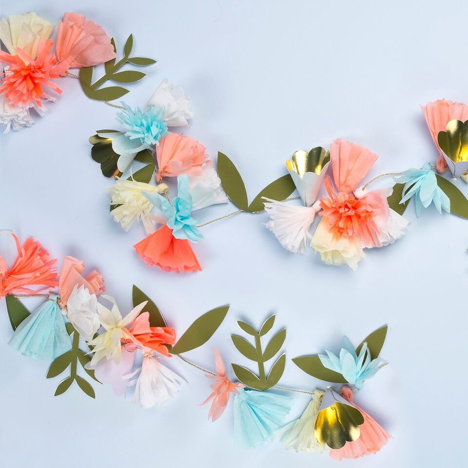 Meri Meri – Flower Bouquet Garland