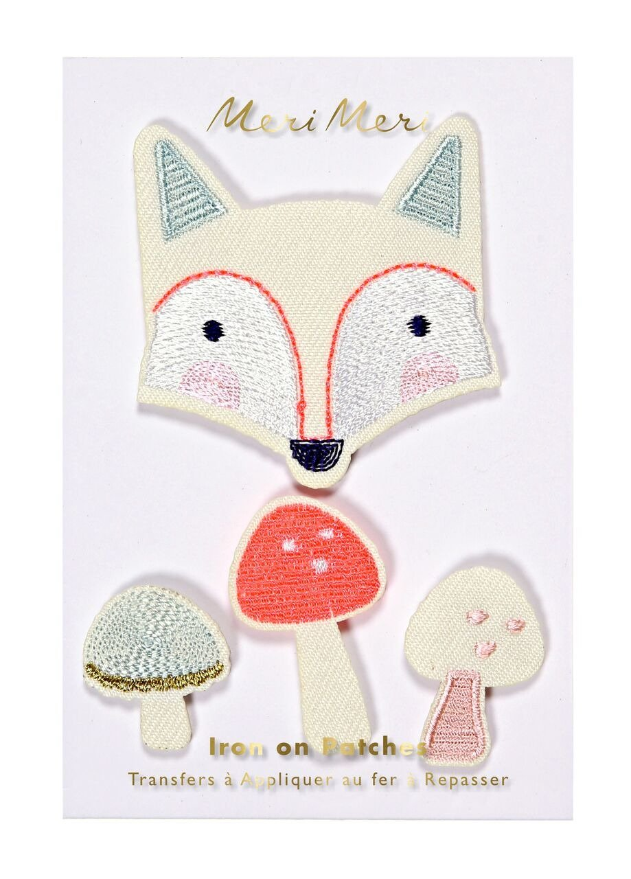Meri Meri – Fox Embroidered Patches