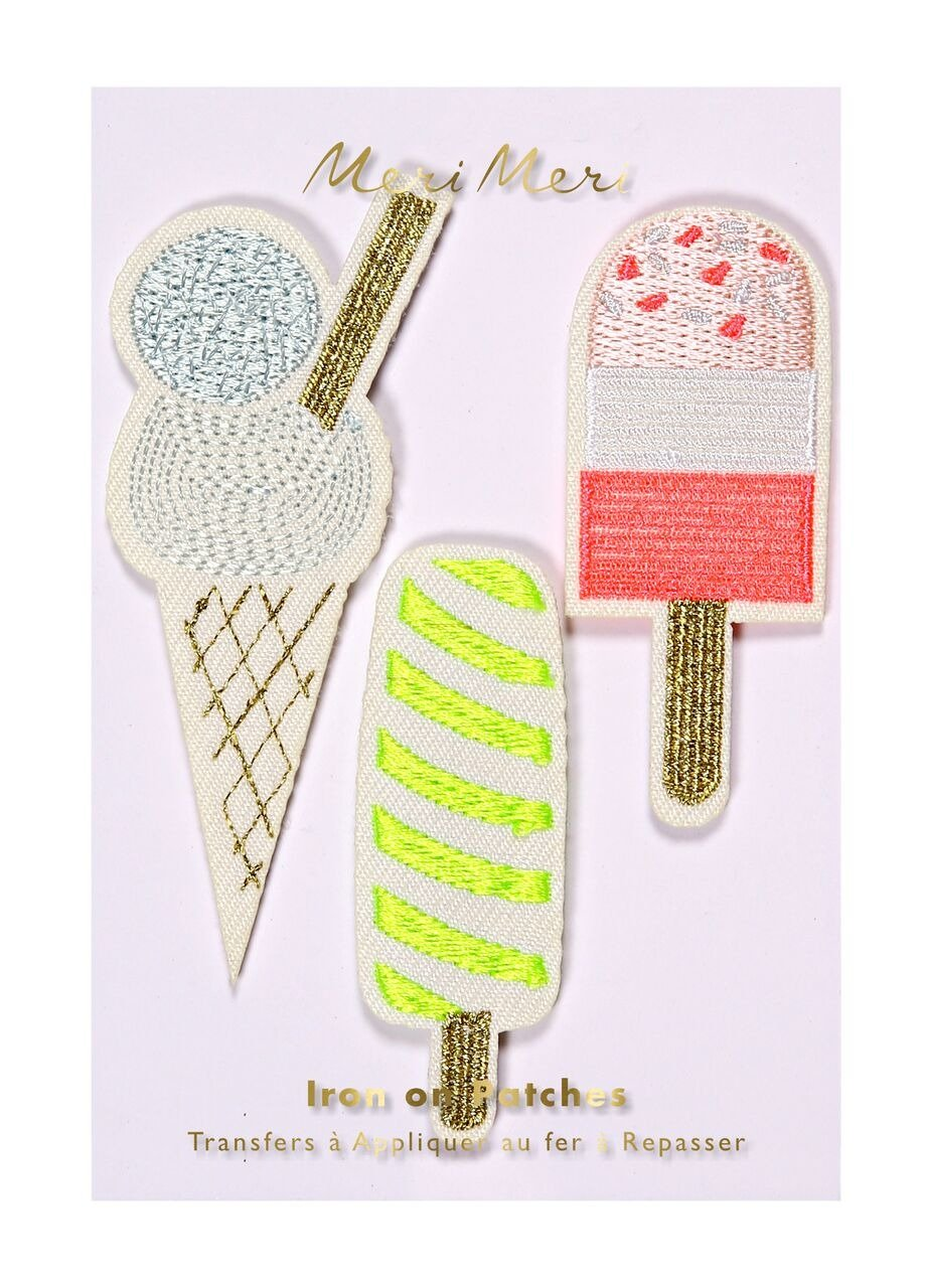 Meri Meri – Popsicles Embroidered Patches