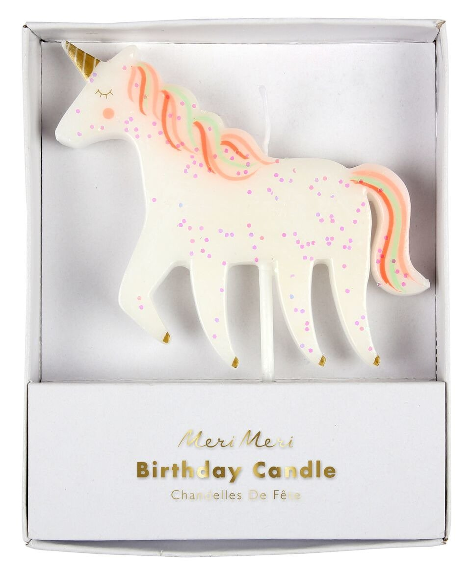 Meri Meri – Unicorn Candle