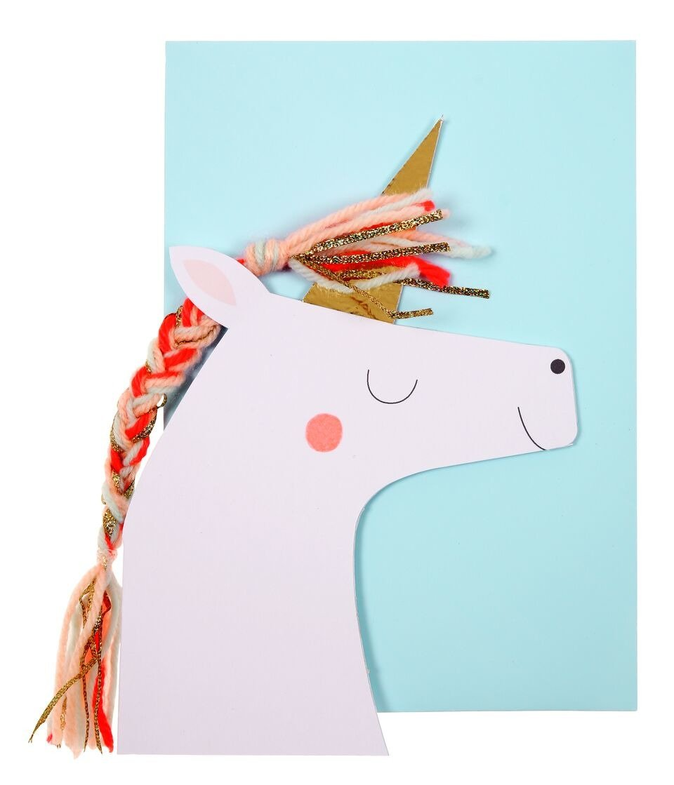 Meri Meri – Unicorn Card