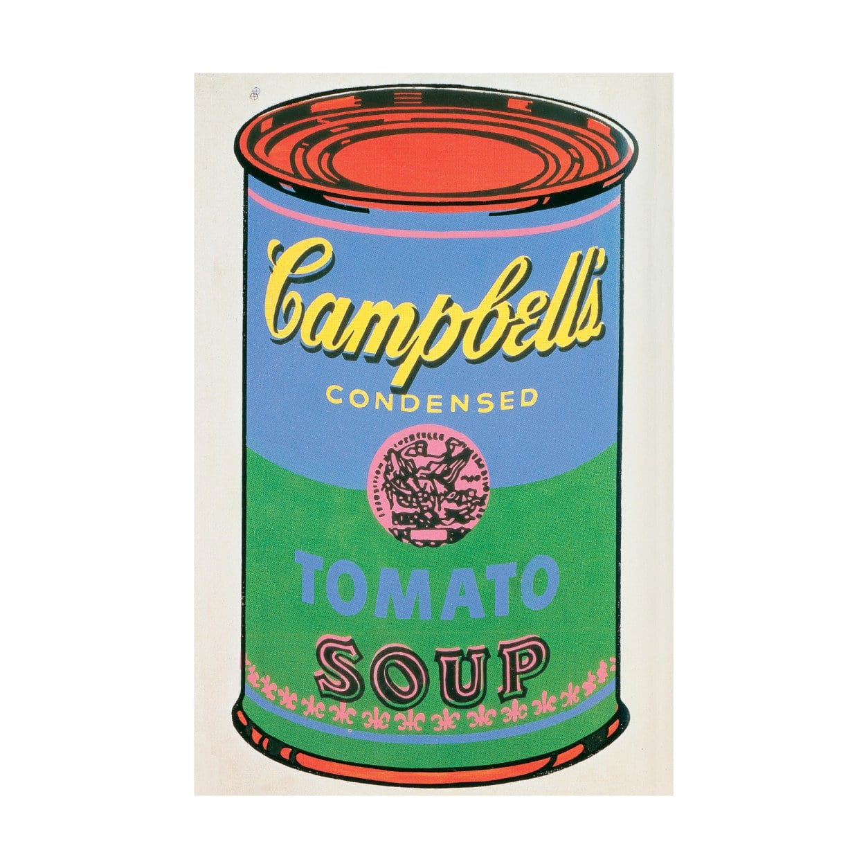 Mudpuppy - Andy Warhol Soup Can Green 200-Piece Puzzle