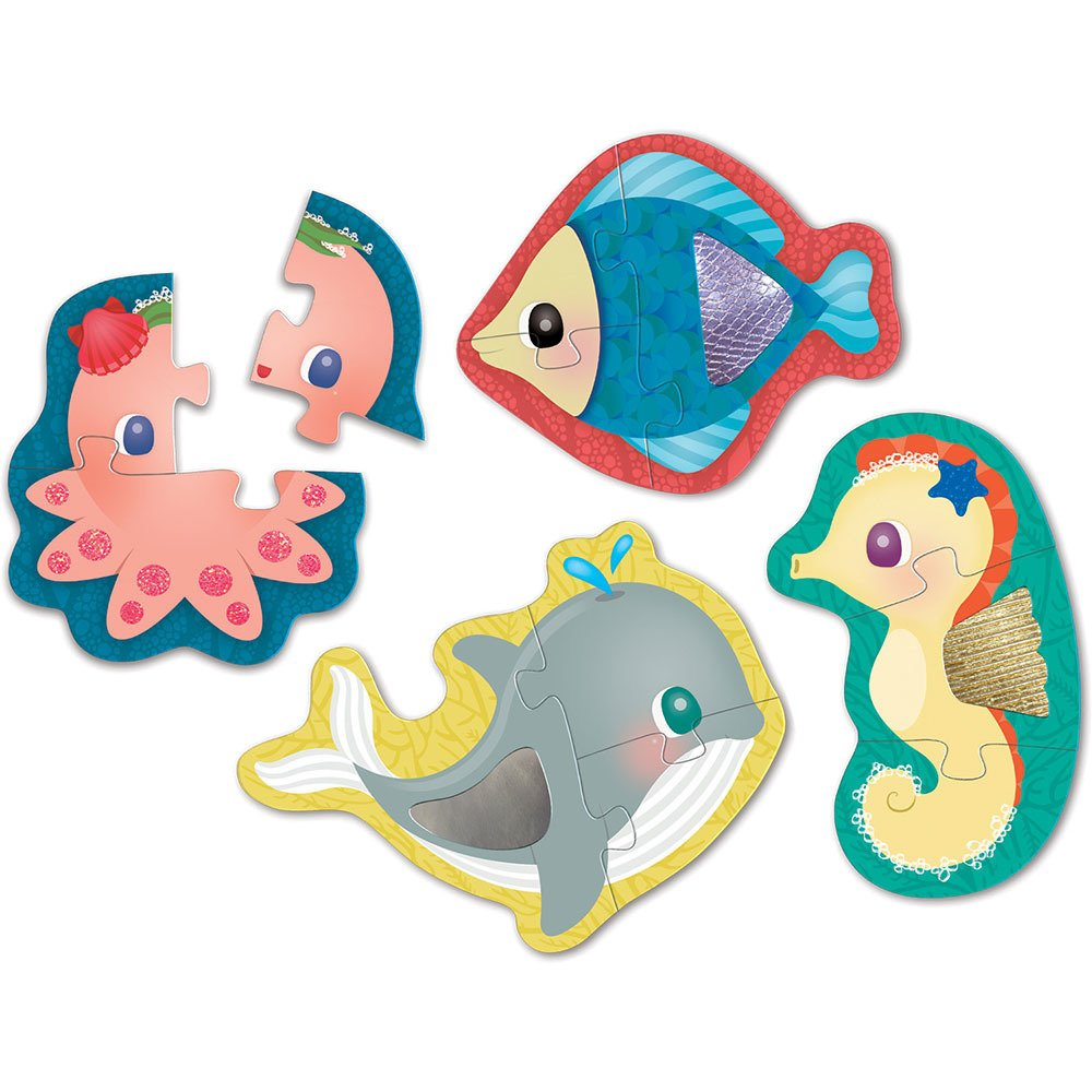 Mudpuppy - Under The Sea My First Touch & Feel Puzzles