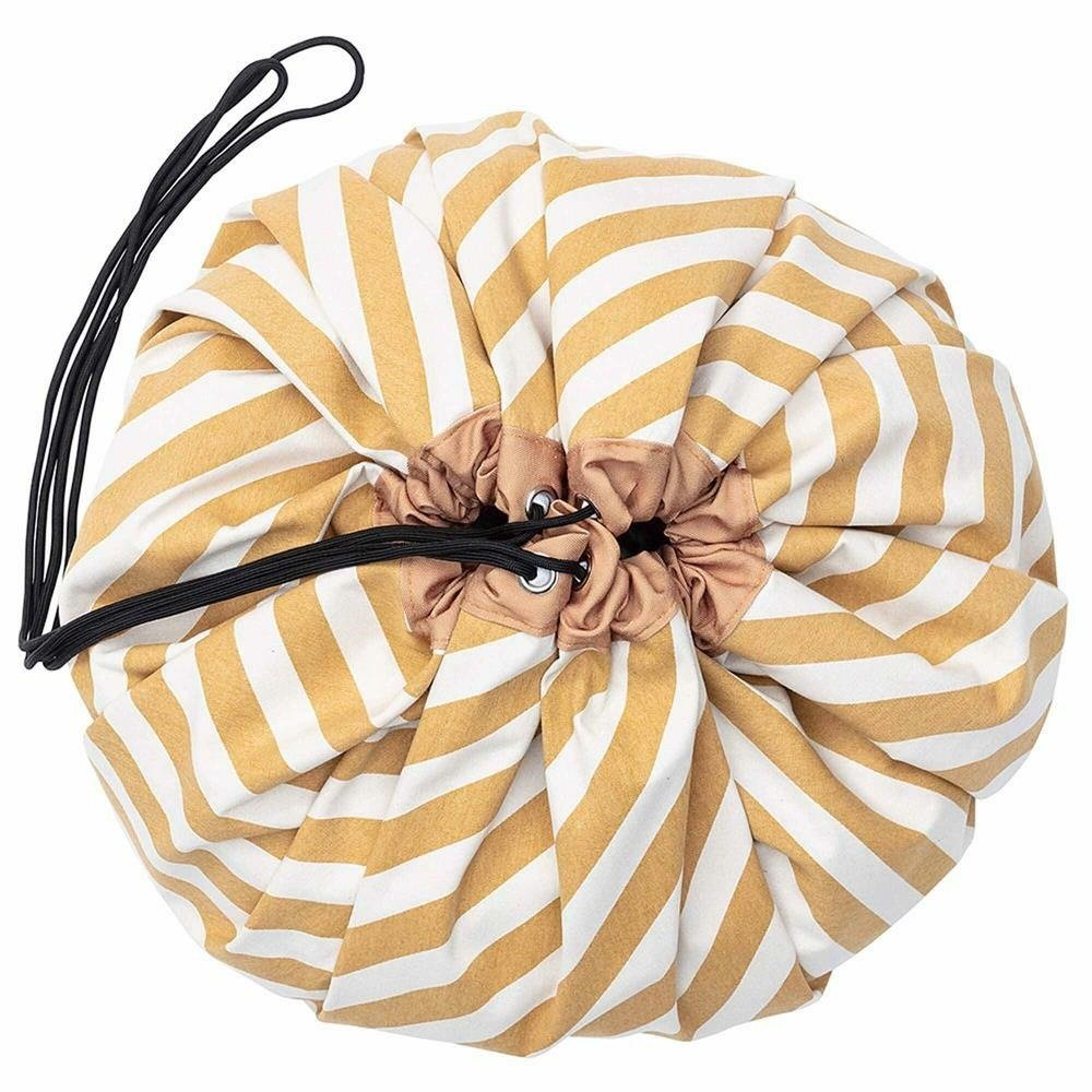 Play & Go - Bag Mustard Stripes