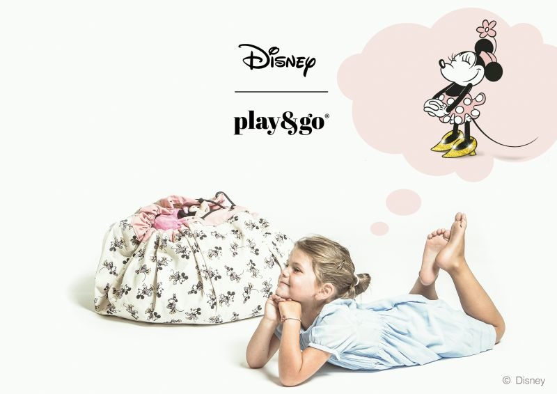 Play&Go - Disney - Minnie Gold TOY STORAGE BAGS