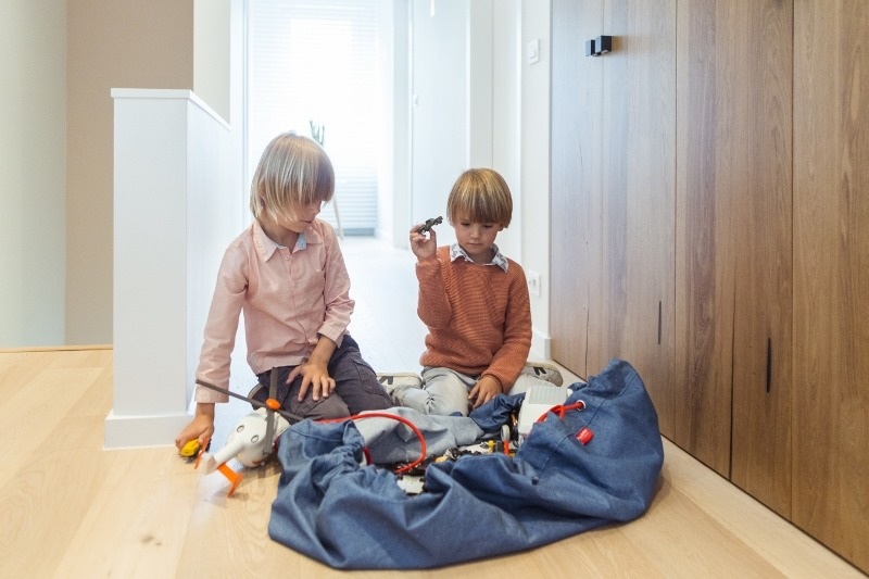 Play&Go - Jeans Toy storage bags