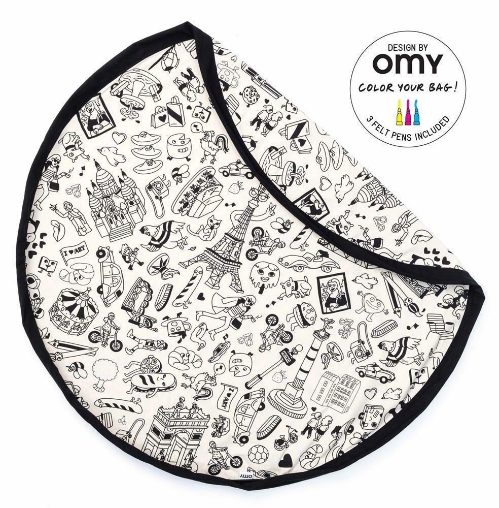 Play & Go - OMY Paris coloring bag